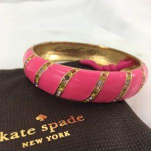 ♠️ Kate Spade ♠️ pink Lollie 🍭 Bangle Bracelet